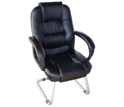 כסא אורח ריפוד PU דגם מרום