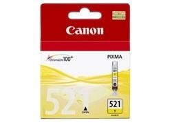 ראש דיו צהוב מקורי Canon CLI-521