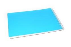בלוק ספירל 100 דף, כריכת פלסטיק