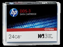 קלטת גיבוי נתונים HP DDS-3 C5708A 24GB