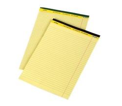 בלוק כתיבה צהוב