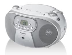 רדיו טייפ דיסק Panasonic RX-DU10