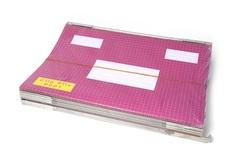25 תיקי תלייה, מתלה מתכת בודד, קליפ פייל 9001