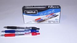 48 עטים  כדורי לחצן TRIPLE 586